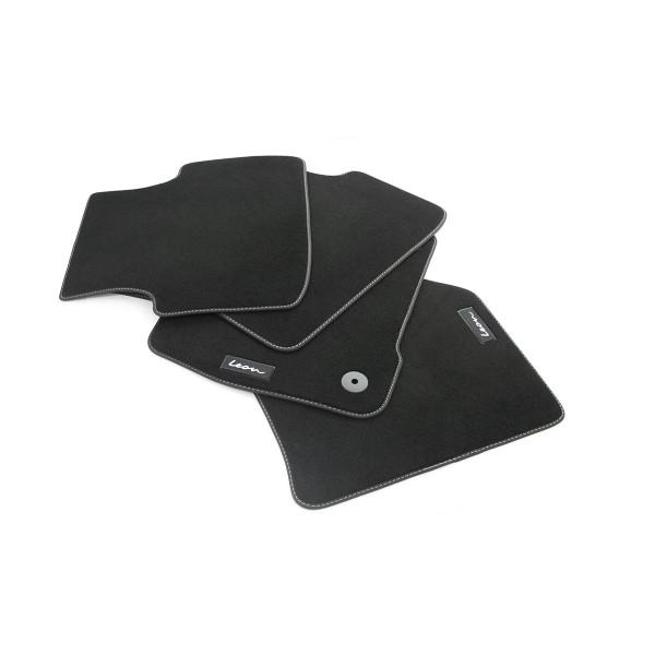 Original Seat Leon IV (KL) Textil Fußmatten 4x Stoffmatten Velours Matten 5FB863011LOE