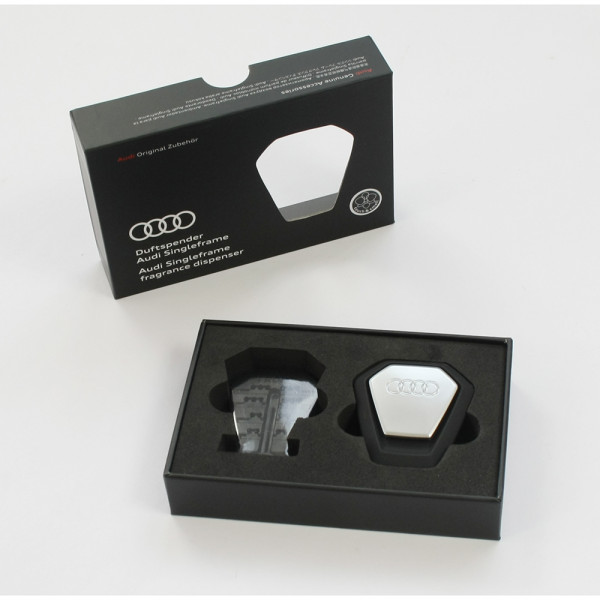 Original Audi Duftspender Audi Singleframe schwarz orientalisch Duftstick