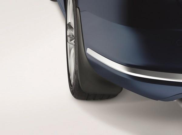 Schmutzfänger hinten Original VW Passat B7 (3C) Limousine schwarz 3AE075101