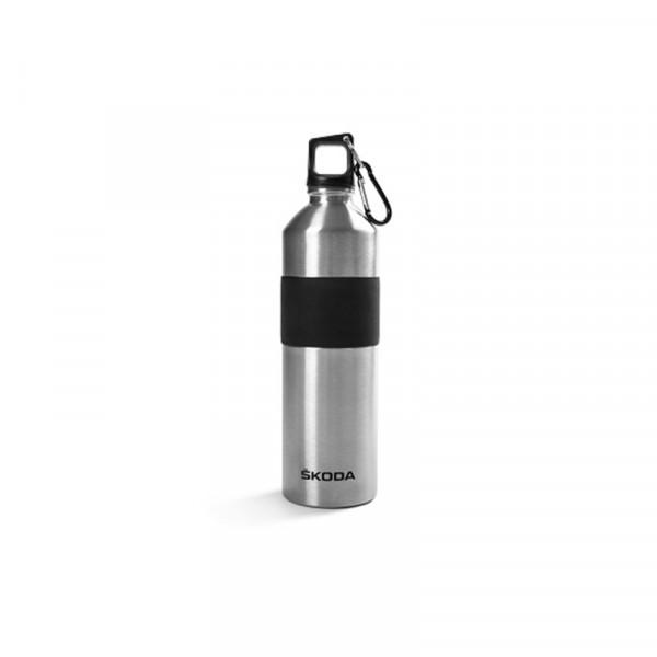 Original Skoda Edelstahl-Trinkflasche 500 ml Flasche Drehverschluss