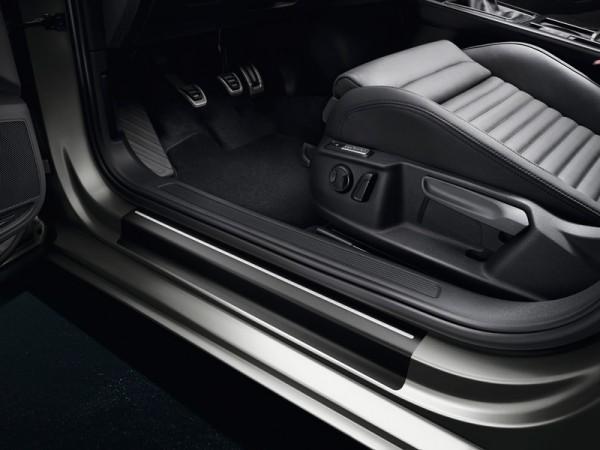 Einstiegsleisten Schutzfolie Trittleisten VW Passat B8 (3G) Original Volkswagen schwarz/silber