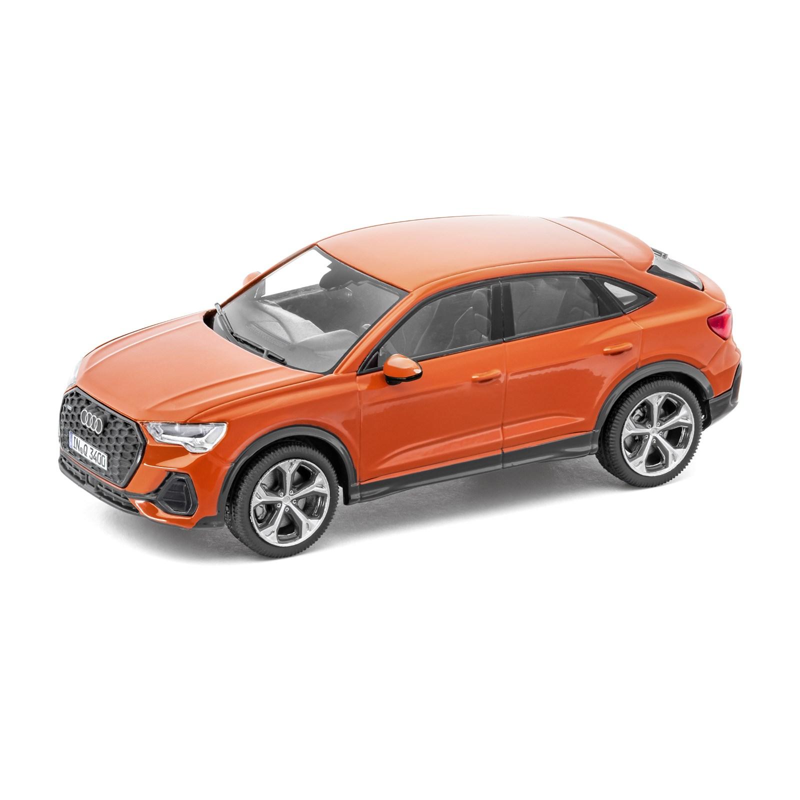 Audi 5011903031 Modellauto 1:43 Miniatur A3 Sportback Modell blau