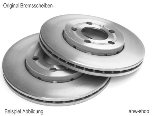 Original VW Bremsscheiben Set vorne Passat B5 Superb Exeo Bremsen 8E0615301Q