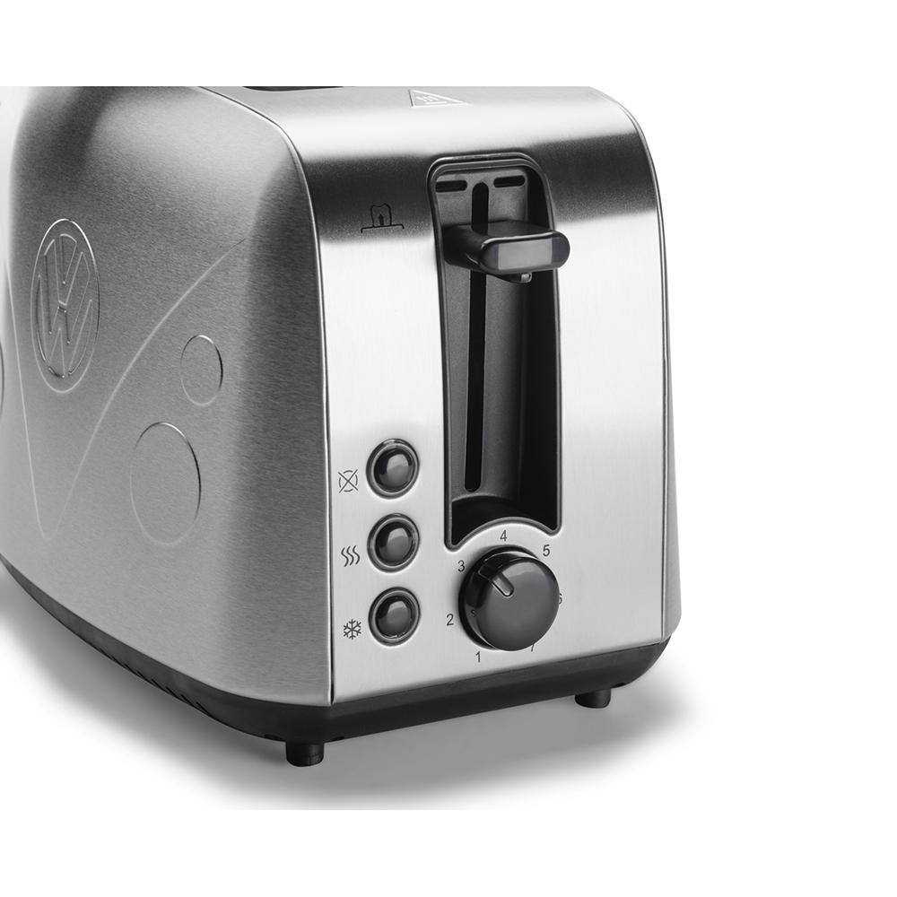 original vw t1 edition toaster edelstahl silber accessoires ahw shop vw audi original. Black Bedroom Furniture Sets. Home Design Ideas