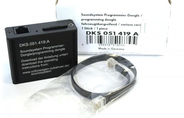 Programmier-Dongle für Soundsystem Original VW Zubehör