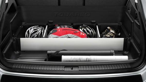 Gepäckraumwanne mit Trennelementen Original VW Touareg Kofferraum Wanne