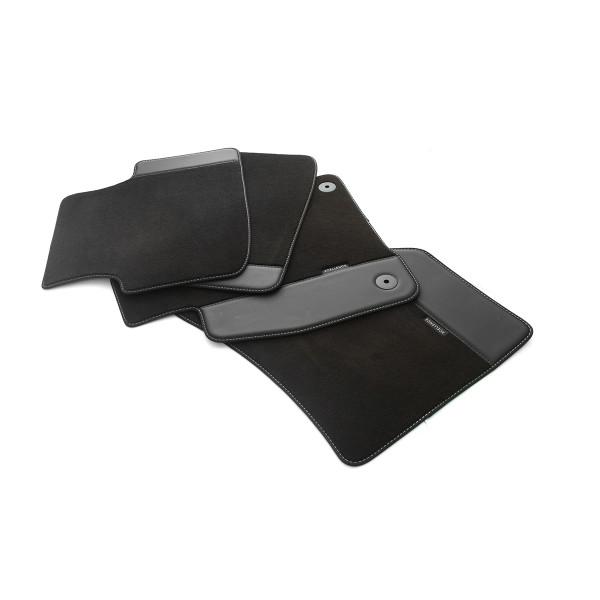 Original Seat Leon IV (KL) Xcellence Textil Fußmatten 4x Stoffmatten Velours Matten 5FB863011ALOE
