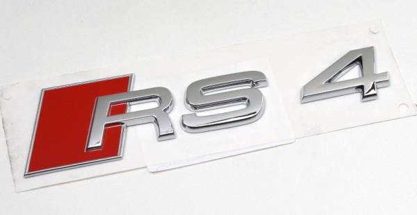 Audi A4 RS4 Schriftzug Aufkleber