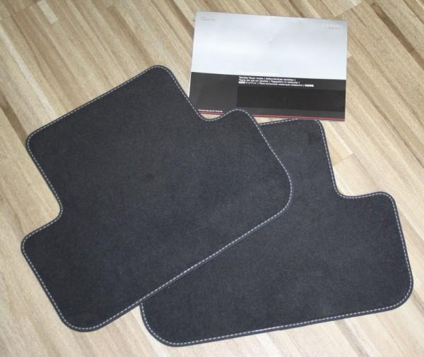 Audi S-Line Fußmatten A4 A5 Original Audi Set Velours, hinten