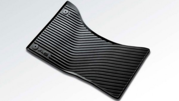 Gummi Fußmatten Original Audi A5 S5 Cabrio Coupe Sportback, vorn