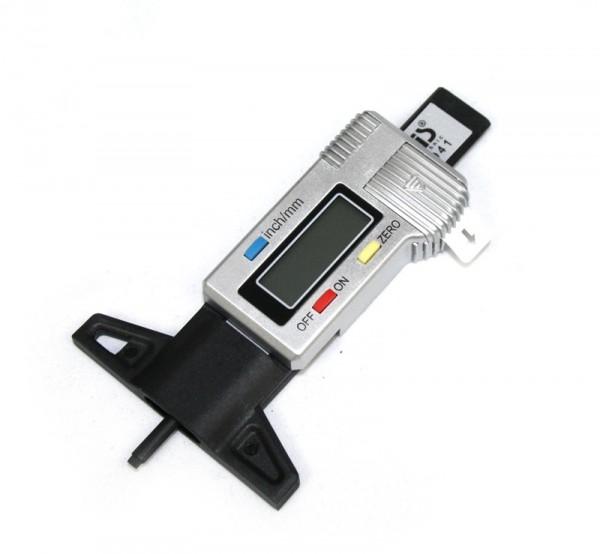 Digitaler Reifenprofilmesser Reifen Räder Profil Messlehre mm/inch