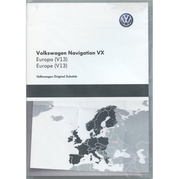 DVD-ROM Navigation V13 Europa RN-S2 RNS MFD-2-DVD Navigationssystem VX Original VW Software