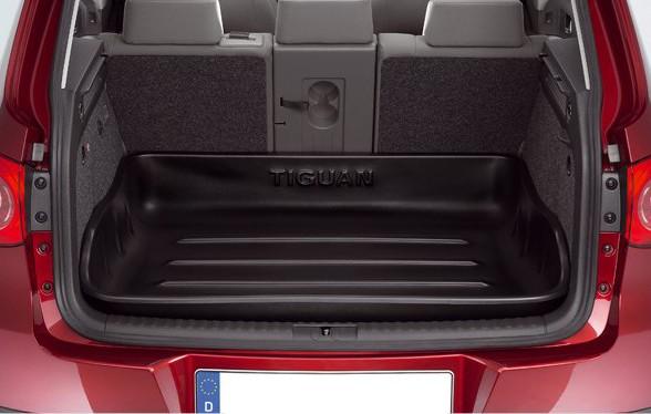Original VW Tiguan Kofferraumwanne Gepäckraumwanne starr Wanne