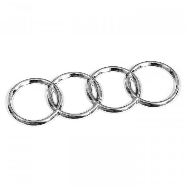 Original Audi Ringe Heckklappe Emblem Logo Limousine chrom 8D58537422ZZ