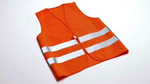 Warnweste Orange Original Audi Service, Panne, Werkzeug Weste 8X0093056A