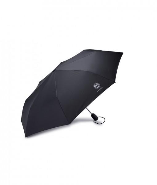 Original Volkswagen Regenschirm Mini Taschenschirm schwarz