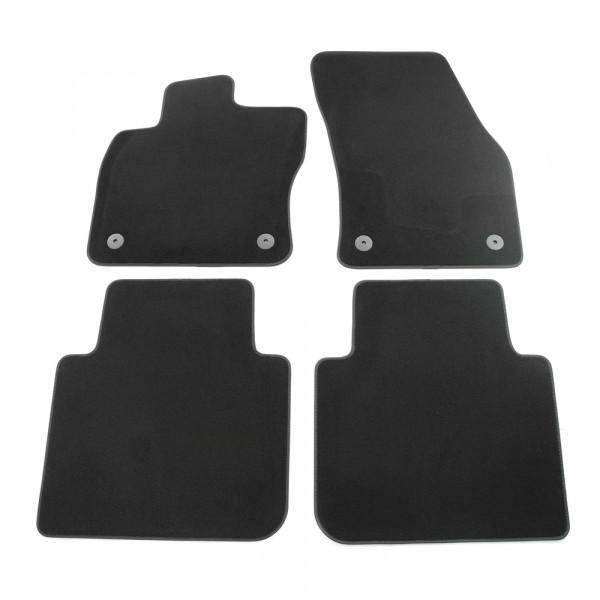 Original Seat Tarraco Textil Fußmatten 4x Stoffmatten Komplettsatz v+h Teppich schwarz
