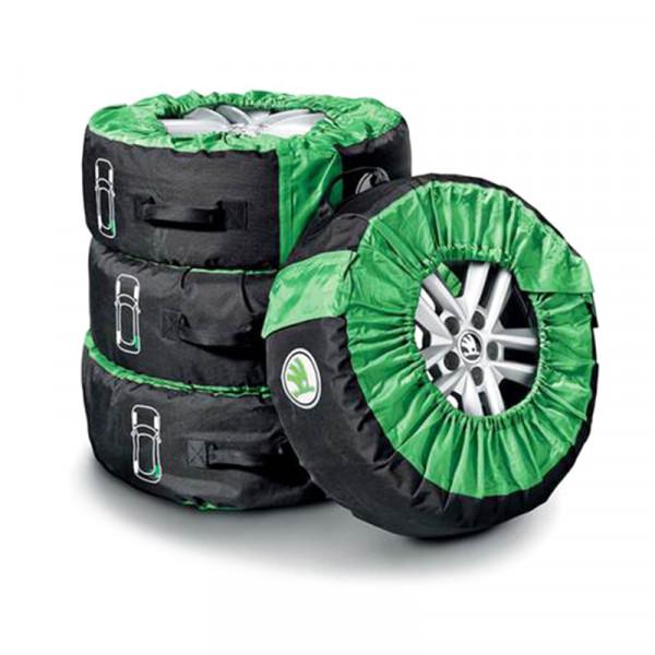 Original Skoda Kodiaq Reifentasche Kompletträder 14-18 Zoll Schutztasche Reifen Räder