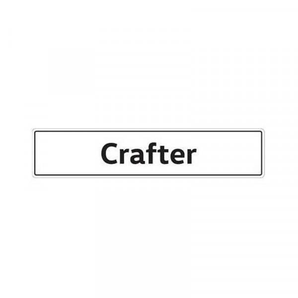 Original VW Kennzeichenschild Crafter Nummernschild Kennzeichen Typenschild 2E0071801A