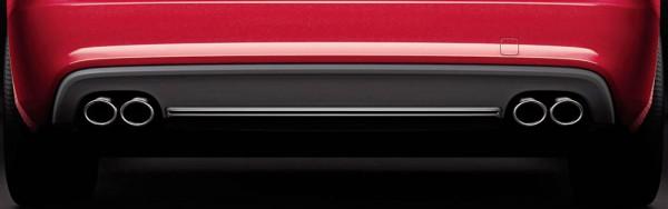 S5 Spoiler Diffusor Set Original Audi A5 S5 Tuning Exterieur Blende Chrom Heck