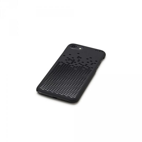 iPhone 7 GTI Schutzhülle Original VW GTI Kollektion Mattschwarz Wabenprofil