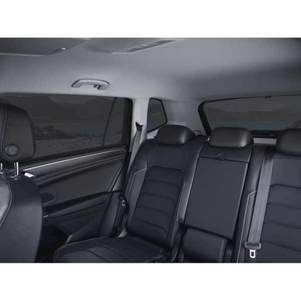 Sonnenschutzsystem 5-teilig Original VW Tiguan Allspace Seitenscheiben Heckscheibe 5NL064365