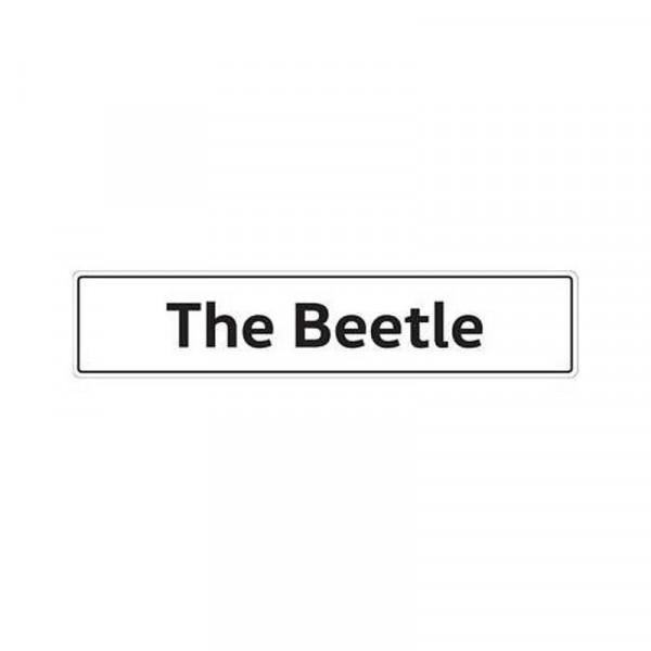 Original VW Kennzeichenschild The Beetle Nummernschild Kennzeichen Typenschild 5C0071801Q
