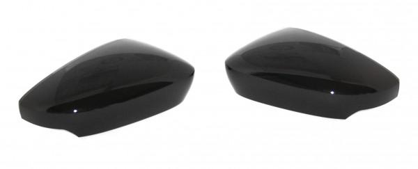 Original Skoda Fabia III (NJ) Dekor Spiegelkappen Set Metallic-schwarz