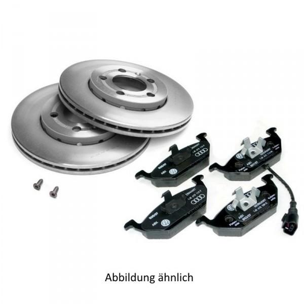 VW Original ECONOMY Bremsenkomplettsatz vorn ECO Bremsscheiben Bremsbeläge JZW698302BH