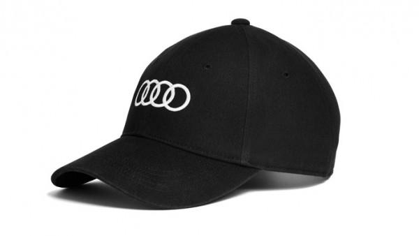 Baseballkappe Basecap schwarz Original Audi Sport Cap unisex