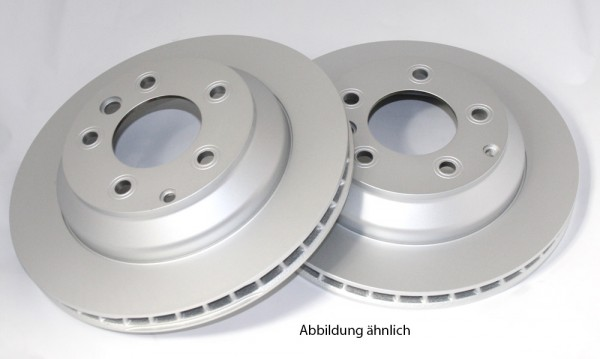 VW Touareg 7L T5 Bremsscheiben Hinterachse Original Scheibenbremsen 314x22mm