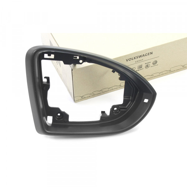 Original VW Spiegelrahmen rechts Blende Außenspiegel Rahmen satinschwarz