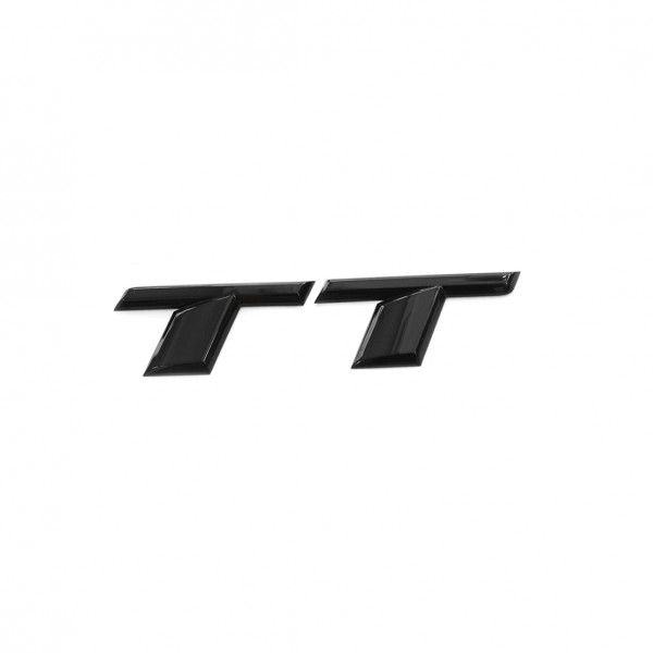 Original Audi TT Schriftzug schwarz Tuning Exclusive Black Edition Emblem 8S0071803