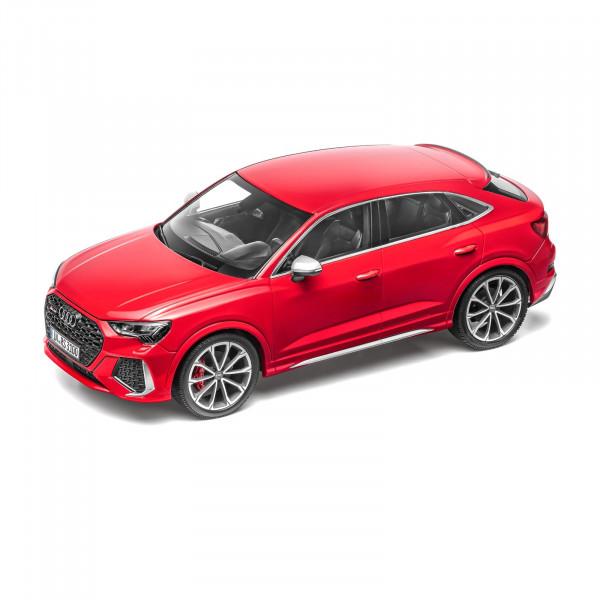 Original Audi Sport RSQ3 Sportback rot Modellauto 1:18 Miniatur Modell 5012013651