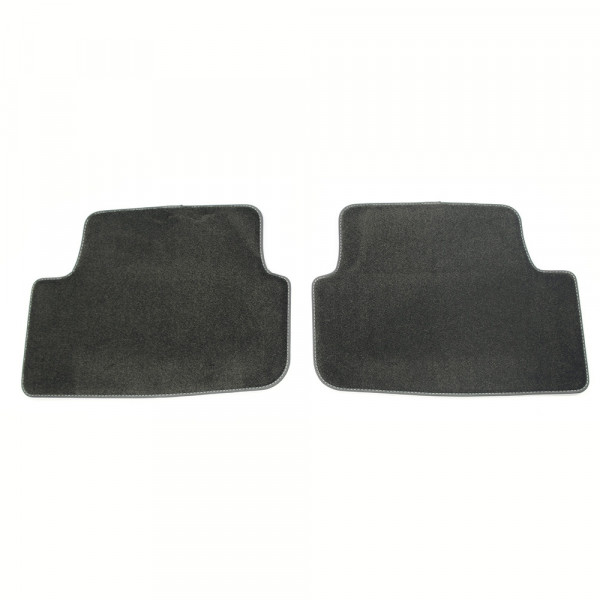 Original Audi A1 (GB) Sportback Premium Textilfußmatten hinten Velours Matten schwarz