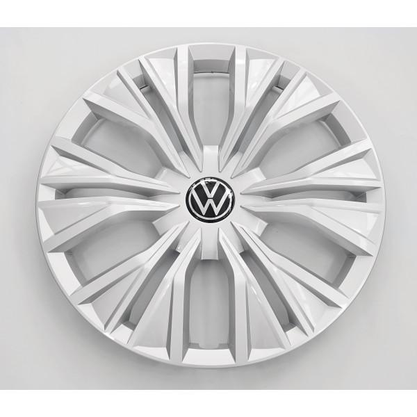 Original VW Caddy 5 Radzierkappe feinsilber 17 Zoll Radzierblende Stahlfelge 2K76011471ZX