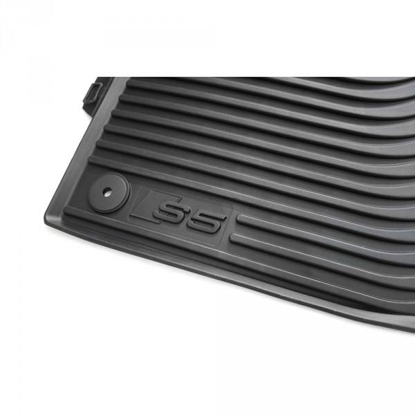 Audi S5 8T Gummifußmatten vorn Original Gummi Fußmatten 2-teilig