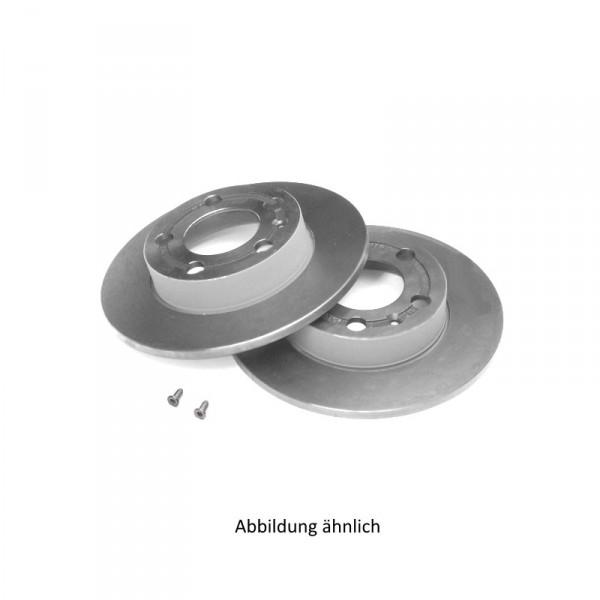 Original VW Bremsscheiben Polo 5 (6R) Hinterachse 1KD Bremsen 6R0615601A