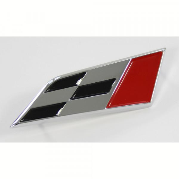 Original Seat Cupra Schriftzug vorn Kühlergrill Emblem Sport Logo chrom
