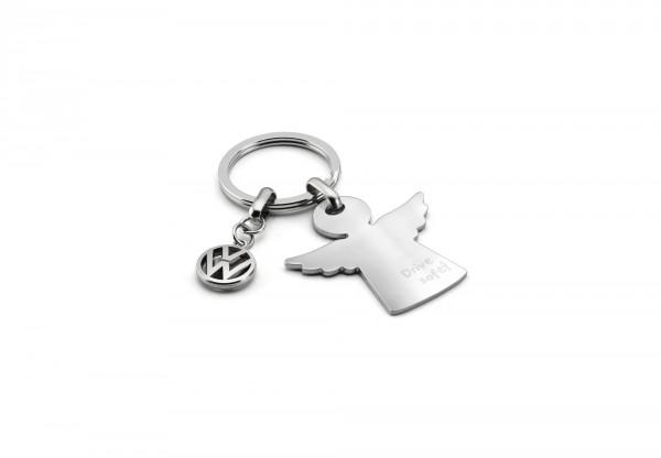 Original VW Schlüsselanhänger Schutzengel Drive Safe Engel