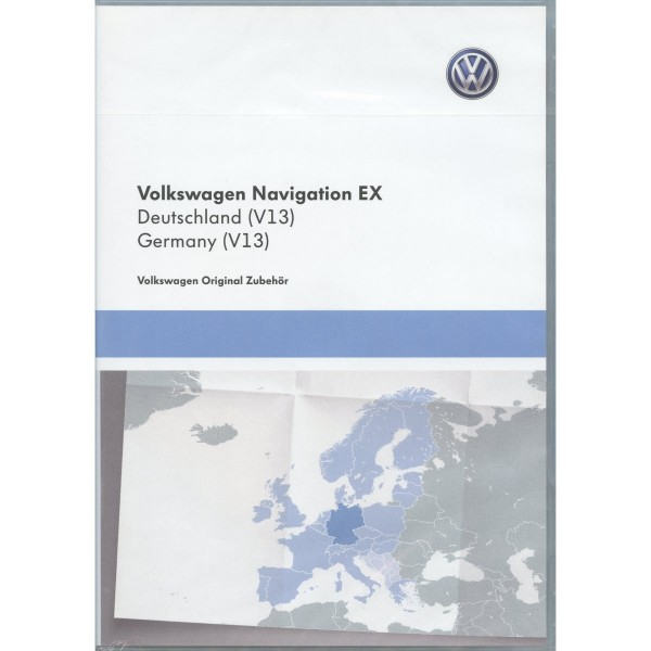 CD-ROM Navigation V13 Deutschland RNS300 Navigationssystem EX Original VW Software Update