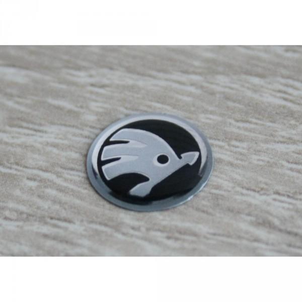 Skoda Emblem Zeichen Autoschlüssel Zündschlüssel Plakette Fernbedienung