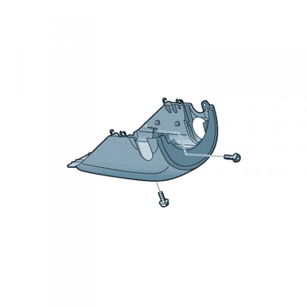 Lenksäulenabdeckung Unterteil GRA Tempomat Original Audi Q2