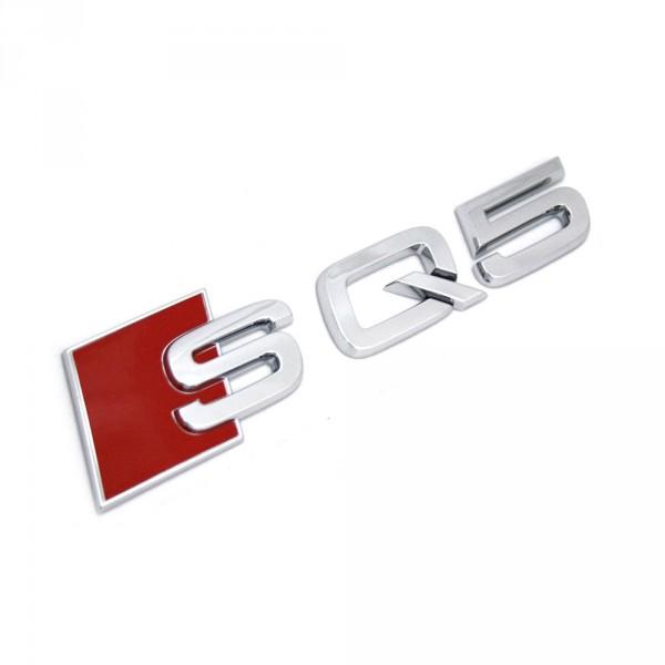 Original Audi SQ5 Schriftzug hinten Exterieur Logo Emblem Heckklappe chrom