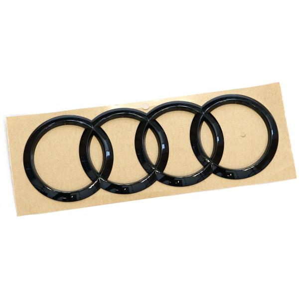 Original Audi Q5/SQ5 (FY) Audi Ringe Black Edition Emblem Blackline Logo schwarz