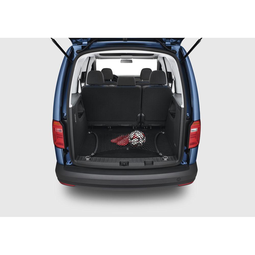 original vw caddy sharan gep cknetz hinten kofferraum. Black Bedroom Furniture Sets. Home Design Ideas