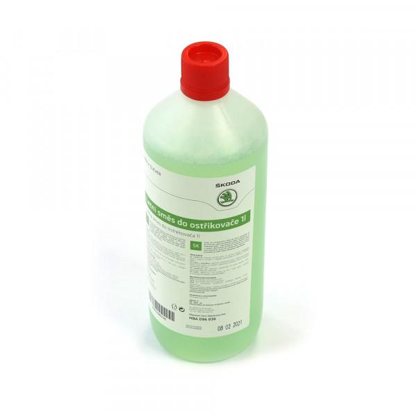 Original Skoda Sommer Fertigmix Scheibenreinigungsmittel 1 Liter Flasche