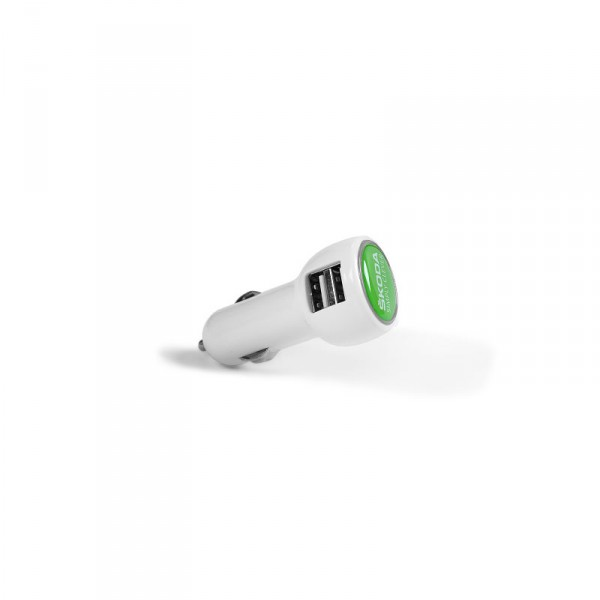 Original Skoda Ladeadapter Car Charger weiß USB Adapter Accessoires