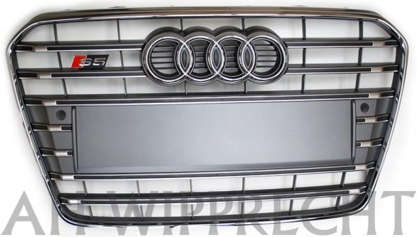 S5 Kühlergrill (Audi A5 Facelift) platinium grau, Original Tuning