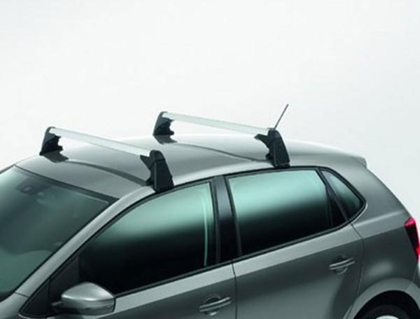 Grundträger VW Polo 6R/6C Tragstäbe Dachträger Original 2-Türer